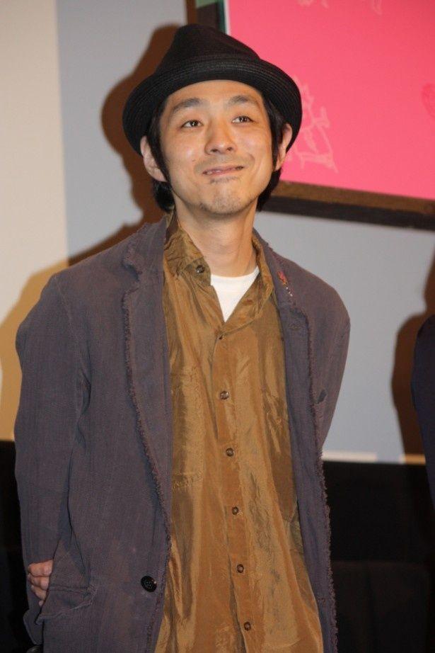 『中学生円山』の初日舞台挨拶に登壇した宮藤官九郎監督