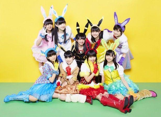 イーブイ☆フレンズをモチーフにした衣装がカラフルな私立恵比寿中学