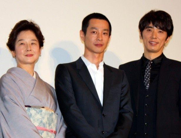 田中裕子、息子役の加瀬亮とユースケを語る