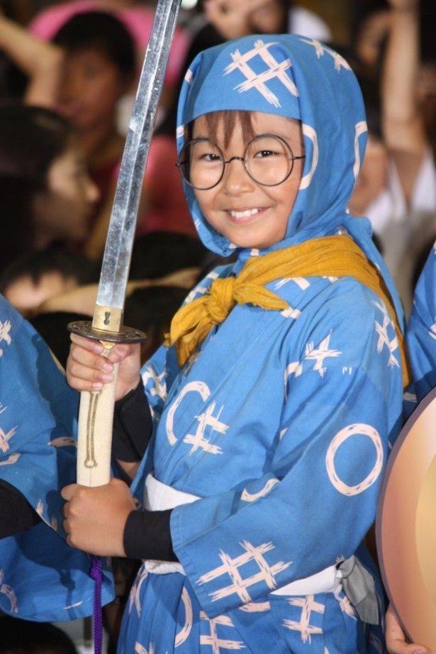 『忍たま乱太郎』の衣装で登場した加藤清史郎