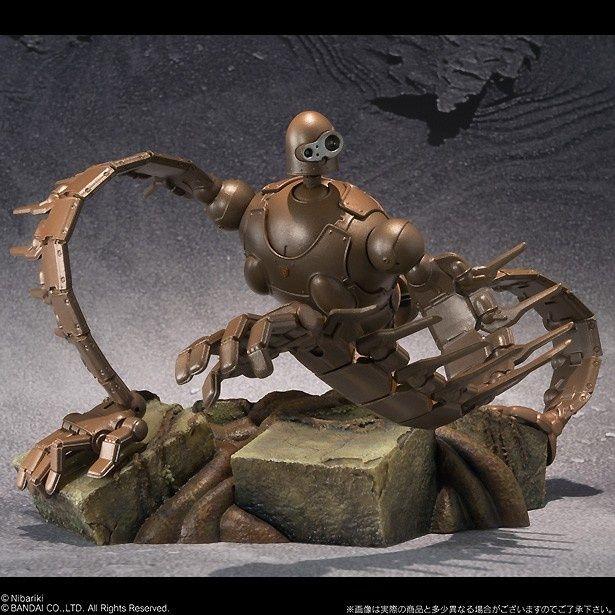 ロボット兵をはじめ、ジブリの人気キャラクターがコレクターズアイテムになって登場!