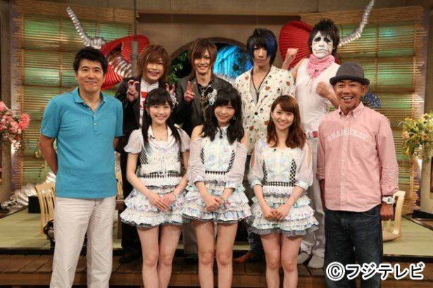 指原莉乃&大島優子&渡辺麻友は石橋貴明、ゴールデンボンバーは木梨憲武と組んで対決する