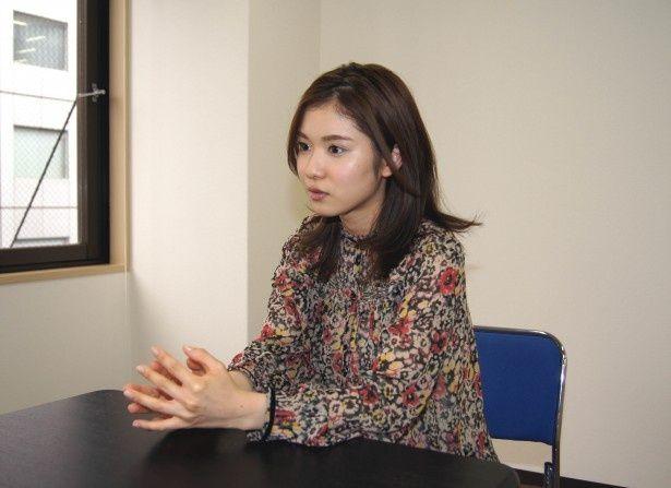 「35歳の高校生」での撮影秘話を明かす松岡茉優
