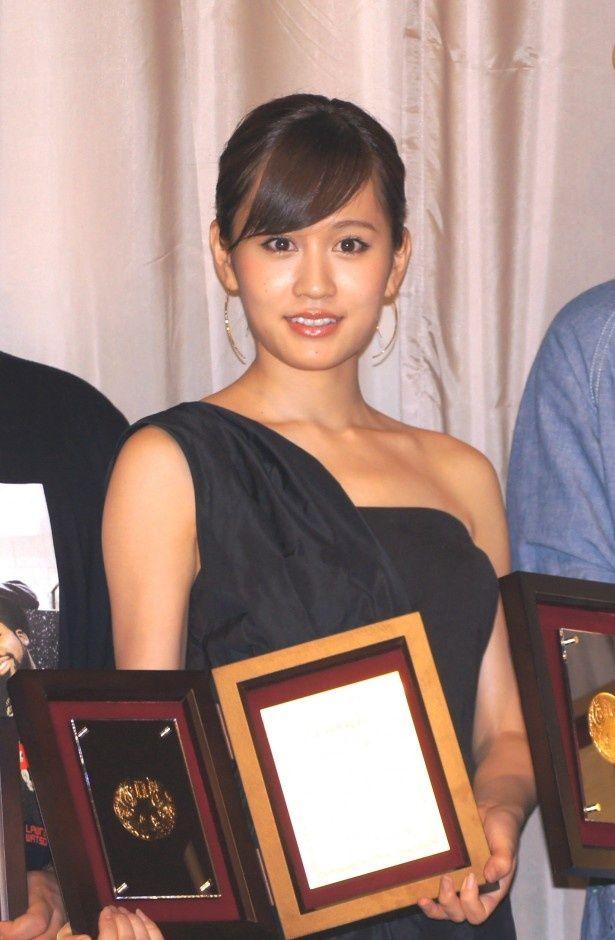 「苦役列車」で主演女優賞に輝いた前田敦子