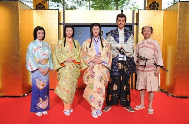 「濃姫II」の会見に、観月ありさらが出席。観月は「また濃姫という女性を演じることができて、とてもうれしい!」