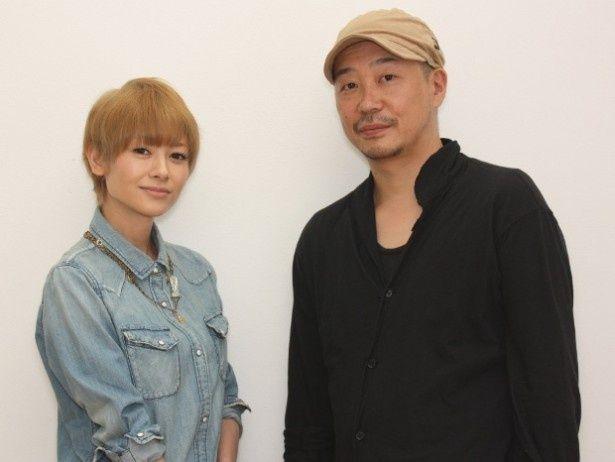 『さよなら渓谷』の主演を務めた真木よう子と大森立嗣監督