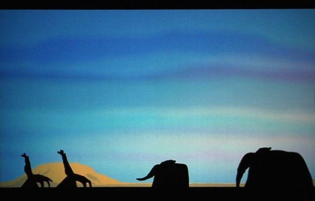 一目でわかるキリンとゾウ。簡単に見えるがその裏では