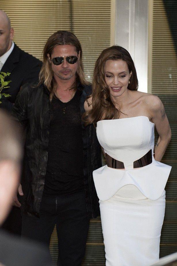 ブラッド・ピットとアンジェリーナ・ジョリーは夫婦を装ってホテルにチェックインしていたという
