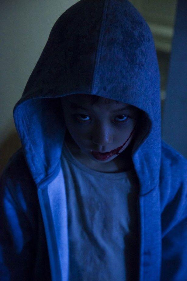 ホラー映画における恐ろしい少年キャラの新鋭、さとし登場!