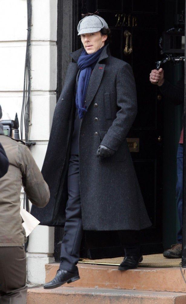【写真を見る】BBC「SHERLOCK」でシャーロック・ホームズを演じているベネディクト・カンバーバッチ