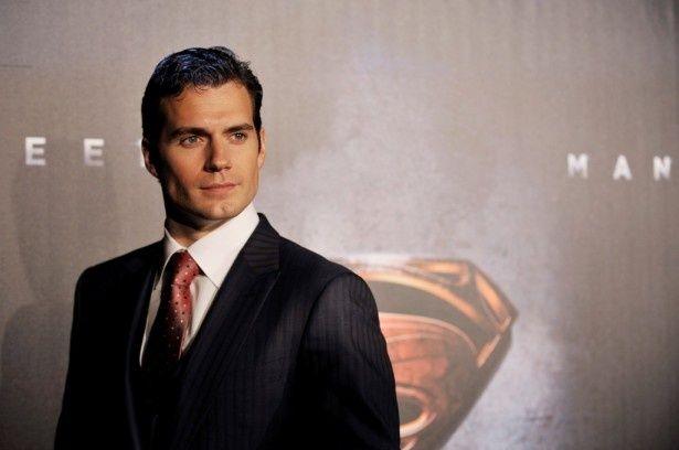 新スーパーマンのヘンリー・カヴィル(『マン・オブ・スティール』オーストラリア・プレミア)
