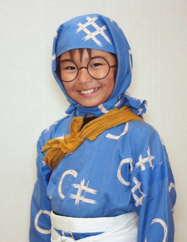 『忍たま乱太郎』の劇中のコスチュームで登場した加藤清史郎