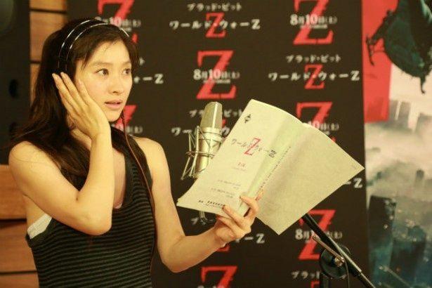 ハリウッド映画のアフレコは初めてだった篠原涼子