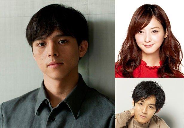 映画『風俗行ったら人生変わったwww』に出演する満島真之介、佐々木希、松坂桃李