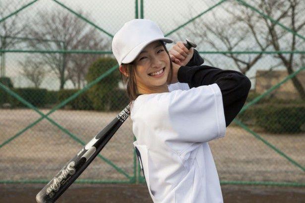 「あまちゃん」出演で注目度急上昇中!野球のユニフォーム姿も清々しい足立梨花