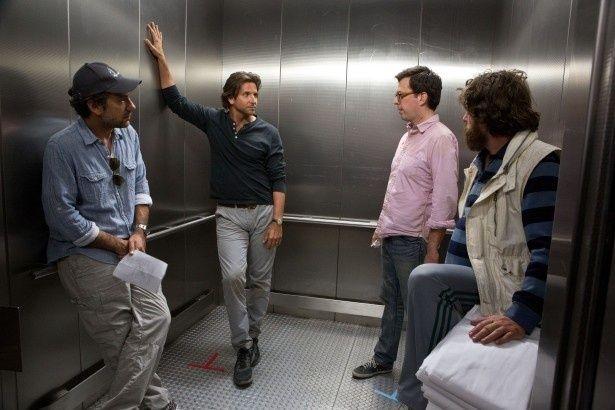シリーズ3作全ての監督を務めたのはトッド・フィリップス(左)