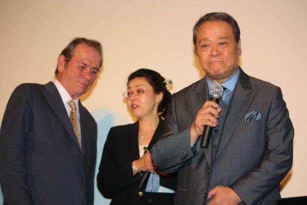 西田敏行がトミー・リー・ジョーンズの演技を絶賛