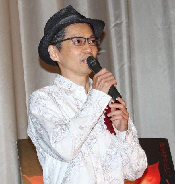 メガホンを取った石井岳龍監督
