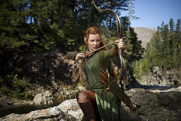 女戦士タウリエルを演じたのはドラマ「LOST」で知られるエヴァンジェリン・リリー