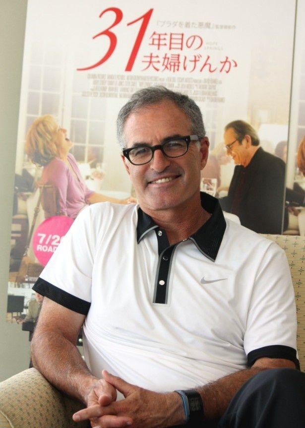 『31年目の夫婦げんか』のデイヴィッド・フランケル監督にインタビュー