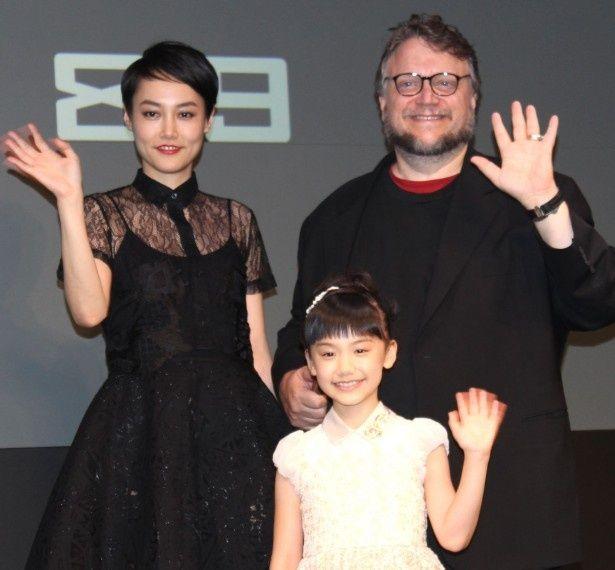 『パシフィック・リム』デル・トロ監督が芦田愛菜を絶賛!