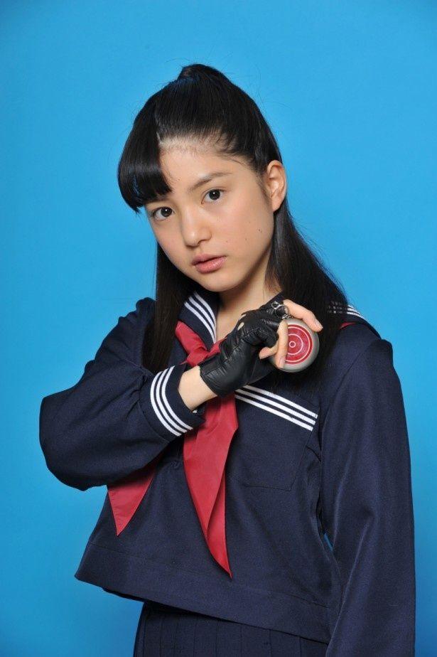 今秋放送のTBSドラマ「SPEC〜零〜」でスケバン姿を披露する川島海荷(9nine)