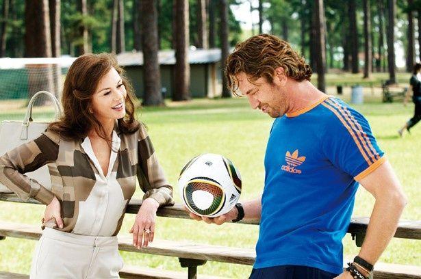 メイキング映像でもジェラルドがサッカーをプレーするシーンが登場