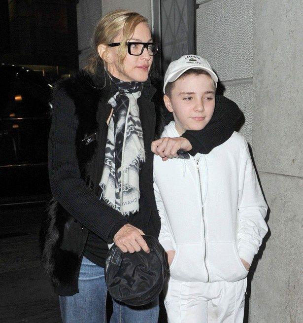 マドンナと息子のロッコ・リッチー