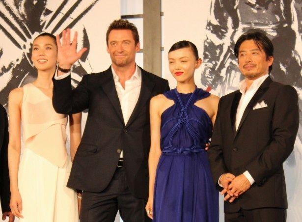 ヒュー・ジャックマンが登場!『ウルヴァリン:SAMURAI』のジャパンプレミアが開催された