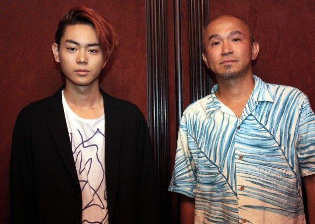 『共喰い』の菅田将暉と青山真治監督にインタビュー