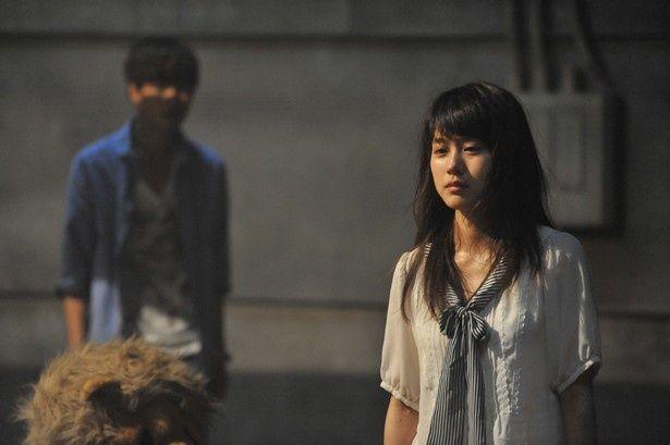 「傲慢」の罪を負った元アイドルのライオン役を熱演する有村架純(『JUDGE ジャッジ』)