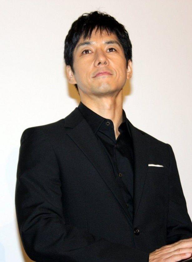 主演映画『ハーメルン』の舞台挨拶に登壇した西島秀俊