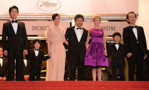 今年5月のカンヌ国際映画祭では審査員賞に輝いた『そして父になる』