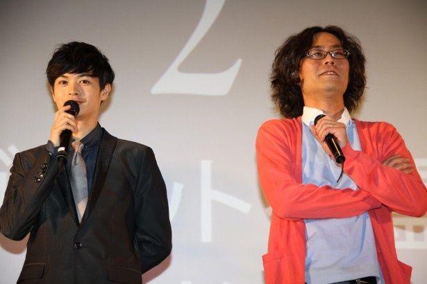 スマ4Dの魅力を語った瀬戸康史と英勉監督