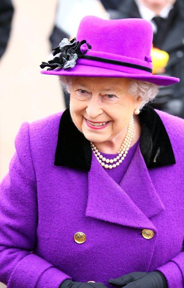 エリザベス2世本人。意志の強そうな瞳はミレンのそれと似ているかも