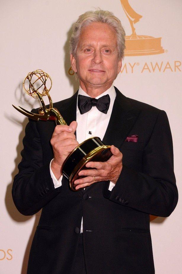 初のエミー賞受賞となったマイケル・ダグラス