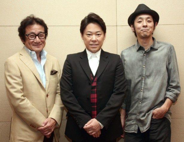 『謝罪の王様』の阿部サダヲ、脚本の宮藤官九郎、水田伸生監督を直撃!
