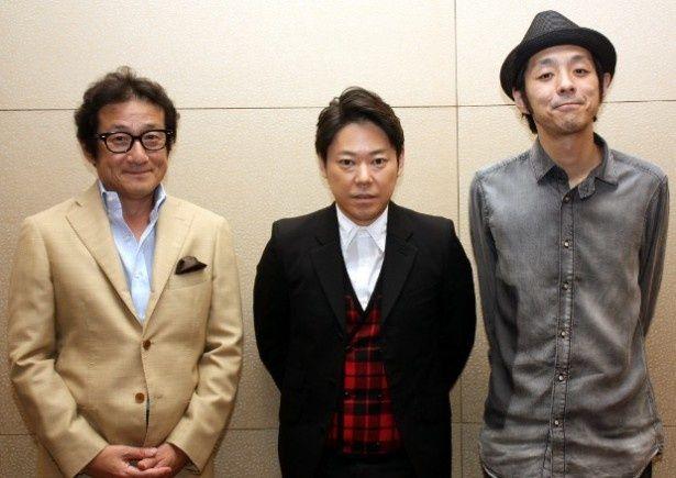 『謝罪の王様』の阿部サダヲ、脚本の宮藤官九郎、水田伸生監督にインタビュー
