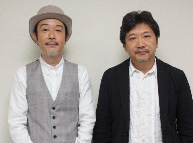 『そして父になる』の是枝裕和監督とリリー・フランキーを直撃!
