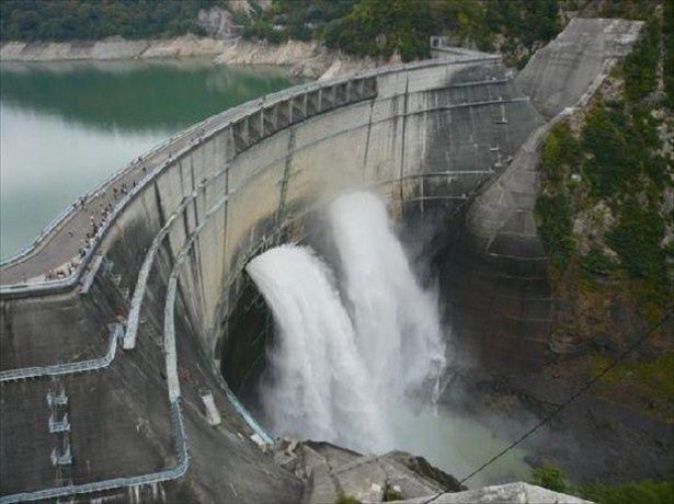 2年連続1位となった黒部ダム
