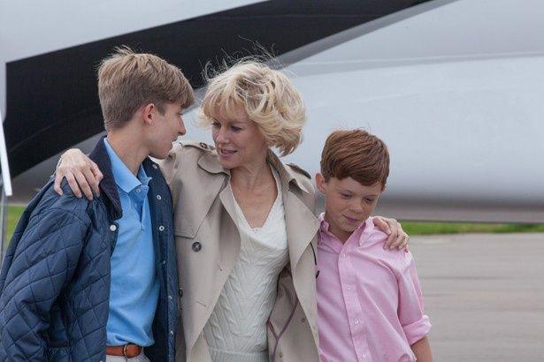 極力自分の力で息子たちを育ててきたダイアナ。離婚後は5週に1度しか会えなかったという