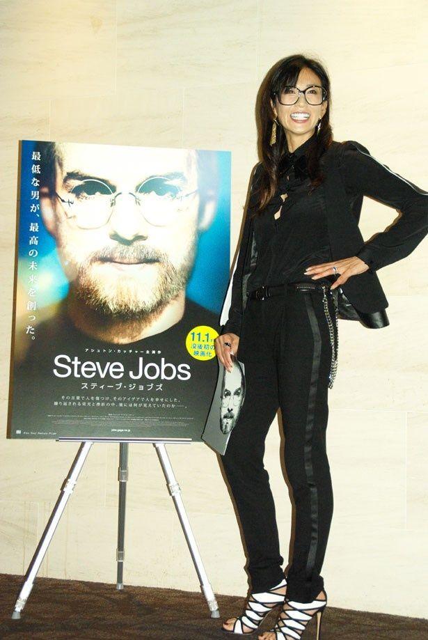 「どんな生き方をしていたのか気になっています」と映画への期待を語っていたタレントの中島史恵