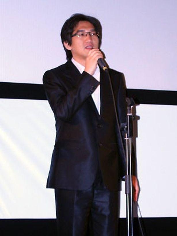登壇したキム・ソヌク監督