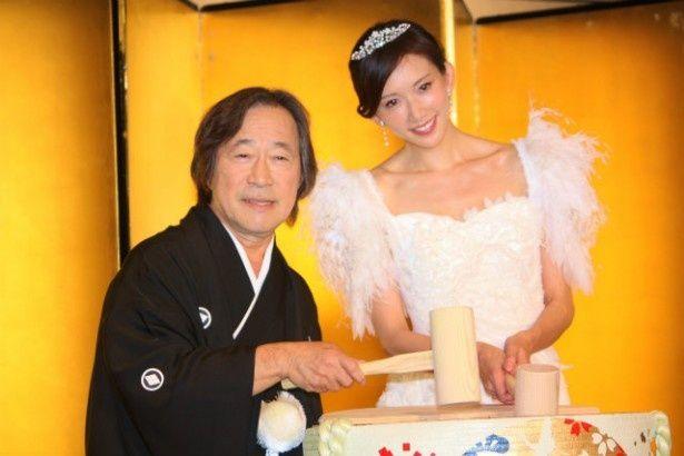 『101回目のプロポーズ』の映画版で共演したリン・チーリンと武田鉄矢