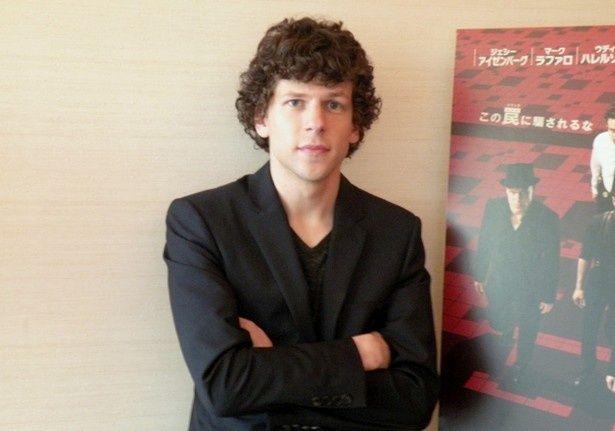 人気若手俳優ジェシー・アイゼンバーグが最新主演作の撮影秘話を語る!
