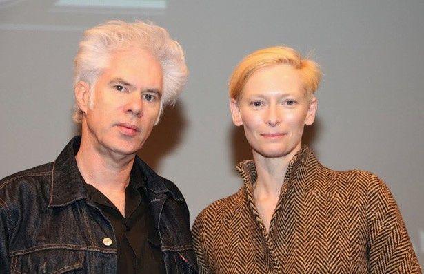 ニューヨーク映画祭に登場したジム・ジャームッシュ監督とティルダ・スウィントン