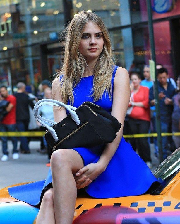 レオを振った(?)とされるカーラ・デルヴィーニュ。ちなみに現在21歳のファッションモデル