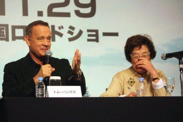 トム・ハンクスが、通訳・戸田奈津子を「ママ」と呼んだ