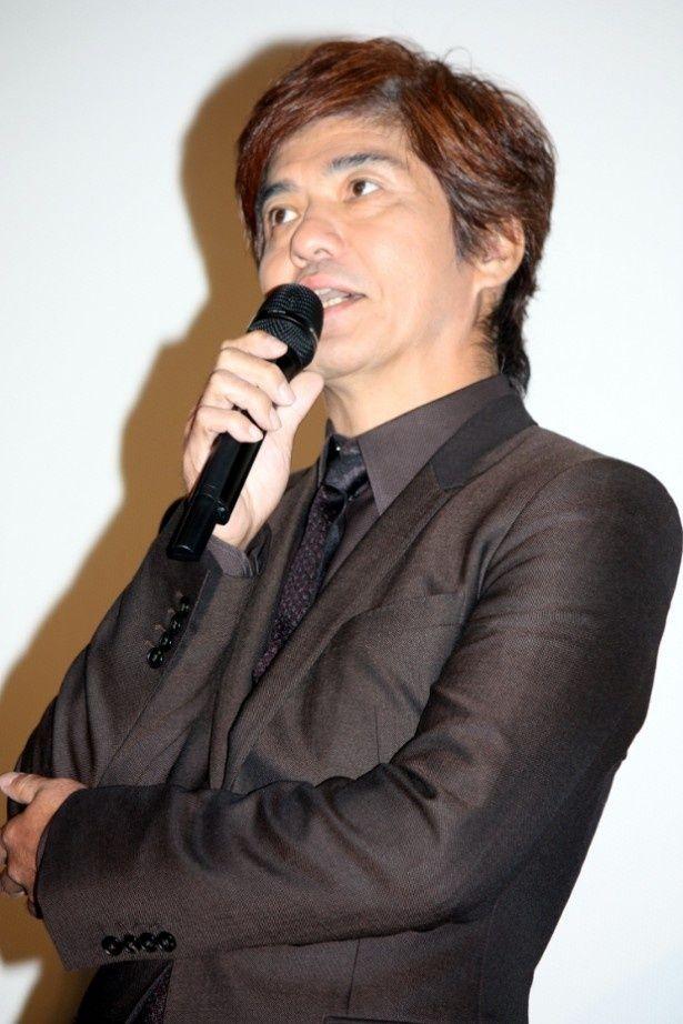 『人類資金』で主演を務めた佐藤浩市