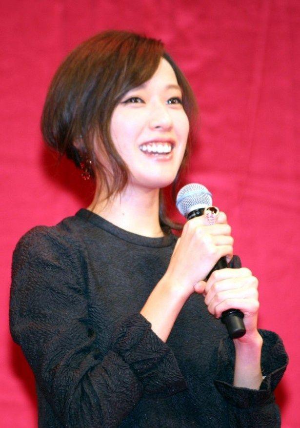 戸田恵梨香、『劇場版 SPEC 結 漸ノ篇』の舞台挨拶に登壇
